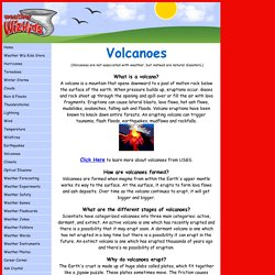 Volcano information for kids