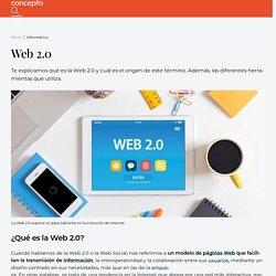 Web 2.0 - Concepto y herramientas