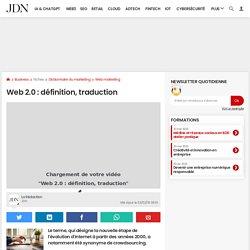 Web 2.0: définition, traduction