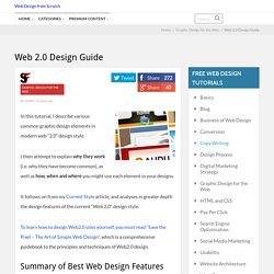 Web 2.0 how-to design style guide