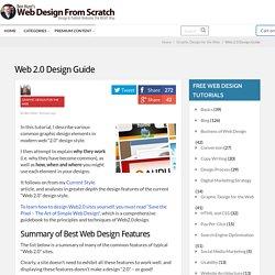 Web 2.0 Design Guide