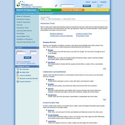 Web 2.0/Interactive Tools