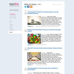 Topicfire - Web 2.0 News