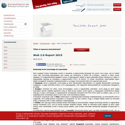 Web 2.0 Report 2015