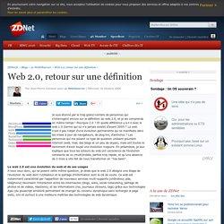 Web 2.0, retour sur une définition