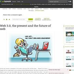 Web 3.0, the future of web