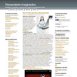 Web 3.0 Web Semántica Web Extendida