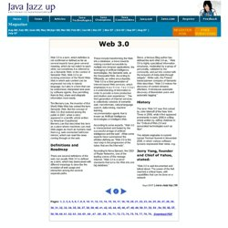 Web 3.0,Web 3.0 Technologies,Web 3.0 Definition