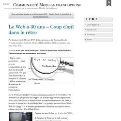 Le Web a 30 ans – Coup d'œil dans le rétro