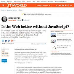 Is the Web better without JavaScript?