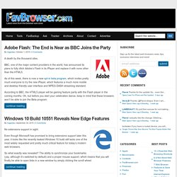 Web Browser News and Reviews