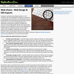 Web Choice - Web Design & SEO Experts