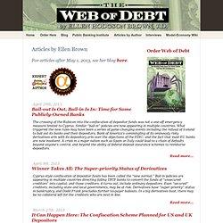 WebofDebt Articles