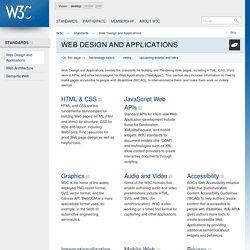 Web Design and Applications - W3C