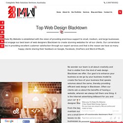 web design company Blacktown
