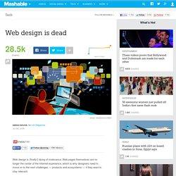 Web design is dead