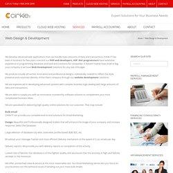 Web designing and development company - Cirkle-IT