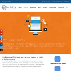 Web Design - Emobilize Limited