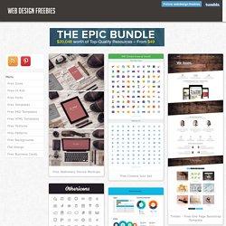 Web design freebies