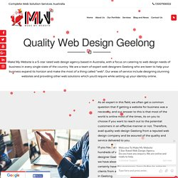 Web Design Company Geelong