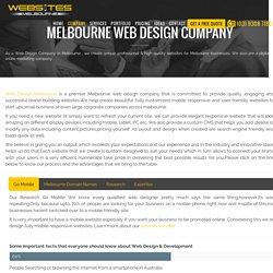 Web Design Melbourne Company