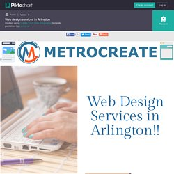Web design services in Arlington