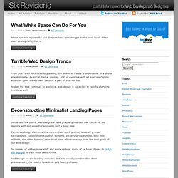 Web Design - Six Revisions