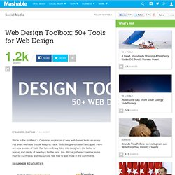 Web Design Toolbox: 50+ Tools for Web Design