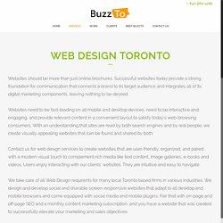 Web Design Toronto - BuzzTo