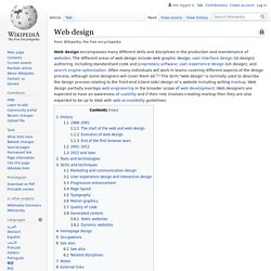 Web design - Wikipedia