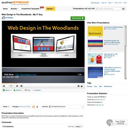 Web Design in the Woodlands - My it Guy