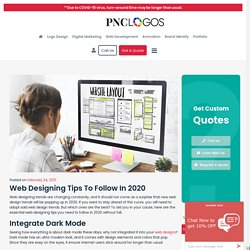 Web Designing Tips to Follow in 2020