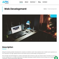 APK Technosys - Web-development