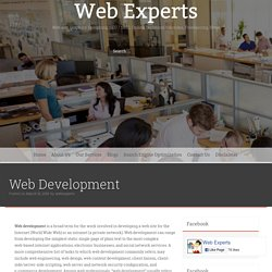 Web Development – Web Experts