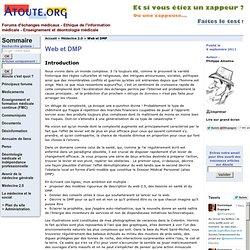 Web et DMP