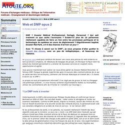 Web et DMP opus 2