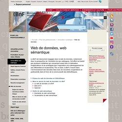 Web de données, web sémantique