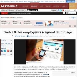 Emploi : Web 2.0: les employeurs soignent leur image