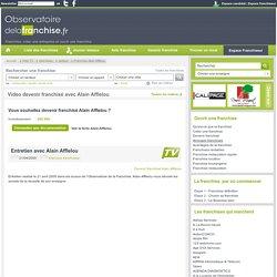 Web TV : Entretien avec Alain Afflelou