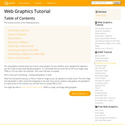 Web Graphics Tutorial