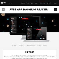 Web App Hashtag Reader