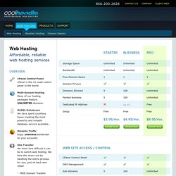 Web Hosting | Web Hosting by Cool Handle