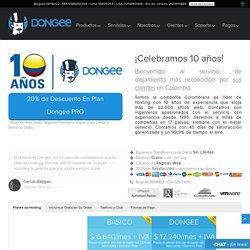 Web Hosting Ilimitado en Colombia