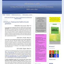 Web 4.0 : l'internet de l'ADN et le web généticiel