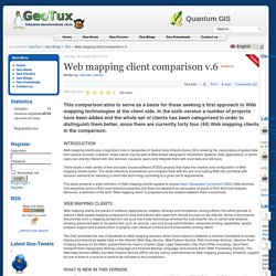 Web mapping client comparison v.6