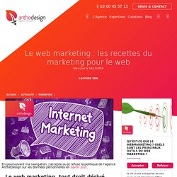 Le web marketing : les recettes du marketing pour le web