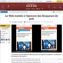 Le Web mobile à l'épreuve des bloqueurs de pub