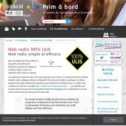 Web radio 100% ULIS - Prim à bord