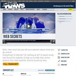 Web Secrets: 05/08/2014, Behind the News