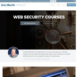 Web Security Course - Web Security Tutorial